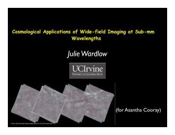Cosmological applications of wide field surveys