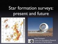 Surveys of star forming regions