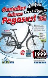 Genießer fahren Pegasus! - Zweiradfachgeschäft Max Lange