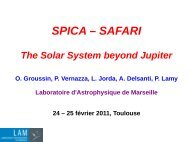 Olivier GROUSSIN: The solar system beyond Jupiter