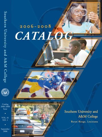 CATALOG CATALOG - Southern University at Baton Rouge