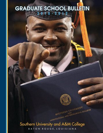 graduate school bulletin - Southern University at Baton Rouge