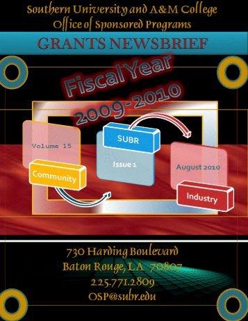 2009 - 10 Newsbrief - Southern University at Baton Rouge