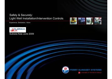 Perry Slingsby Systems - Subsea UK