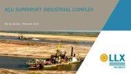 AÇU SUPERPORT INDUSTRIAL COMPLEX - Subsea UK