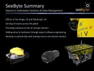 SeeByte Summary - Subsea UK