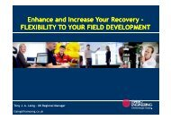 Enhance and Increase Your Recovery - Subsea UK