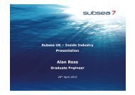 Alan Ross - Subsea UK