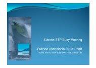Subsea STP Buoy Mooring Subsea Australasia 2010 ... - Subsea UK