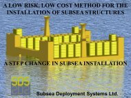 A Step Change in Subsea Installation - Subsea UK