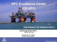 EPC Excellence Center (CE-EPC) - Subsea UK
