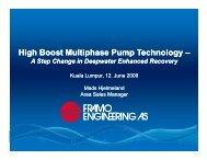 Framo Engineering - Mads Hjelmeland - Subsea UK