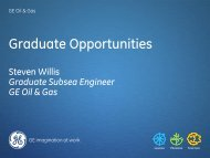 Graduate Opportunities - Subsea UK