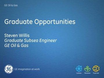 Graduate Opportunities - Subsea UK