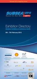 Exhibition Directory - Subsea UK