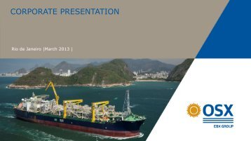 CORPORATE PRESENTATION - Subsea UK