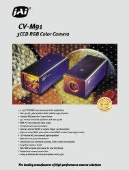 3CCD RGB Color Camera CV-M91 - Image Labs International