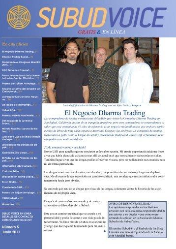 El Negocio Dharma Trading - Subud Voice