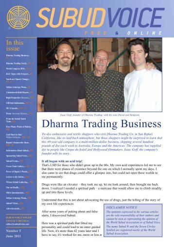 Dharma Trading Business - Subud Voice