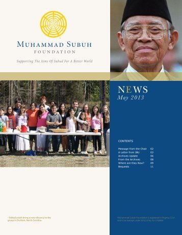 May 2013 - Subud World News