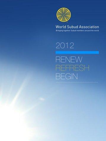 2012 WSA Report - Subud World News