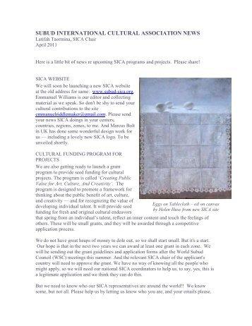 subud international cultural association news - Subud World News