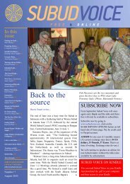 issue - Subud World News