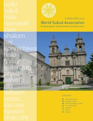 WSA e-Newsletter - Subud World News