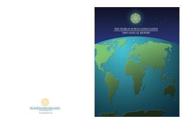 2009 wsa annual report - Subud World News