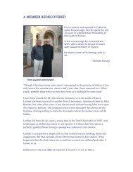 A MEMBER REDISCOVERED - Subud World News