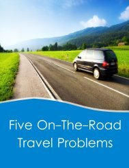 Five On-The-Road Travel Problems