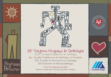 28° Congreso Uruguayo de Cardiología - Sociedad Uruguaya de ...