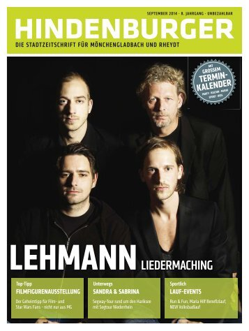 Hindenburger - Ausgabe September 2014