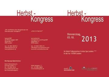 Herbst - Kongress Herbst - Kongress - Successfactory