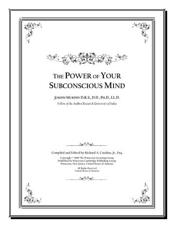 Power Your Subconscious Mind 2020 the-power-of-your-su