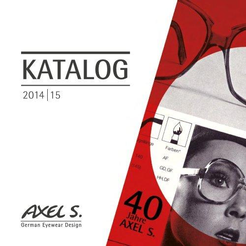AXEL S Katalog 2014-15