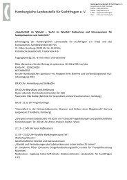 Hamburgische Landesstelle für Suchtfragen e. V. - Sucht-Hamburg