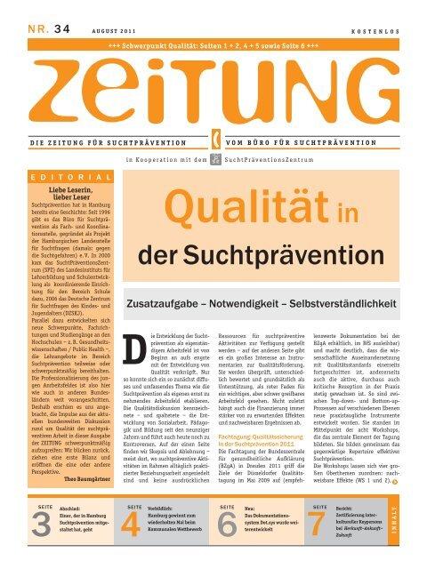Zeitung 34 - Sucht-Hamburg