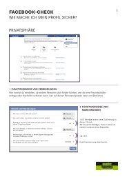 facebook-check - Suchthaufen