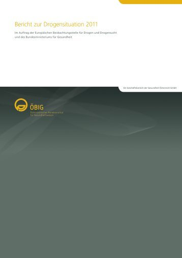 Bericht zur Drogensituation 2011 - Fachstelle für Suchtprävention NÖ