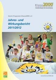 Jahresbericht 2011/12 - Klasse2000