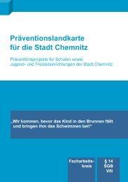 Präventionslandkarte für die Stadt Chemnitz - Technische ...