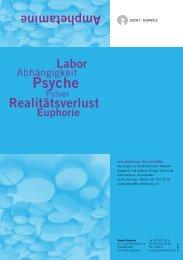 Amphetamine - Sucht Schweiz