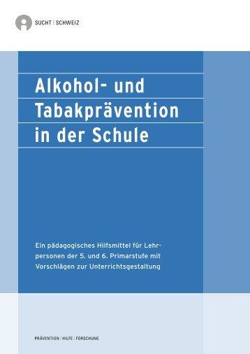 PDF gratis erhältlich - Sucht Schweiz