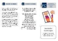 Flyer Werkkoffer Essstörungen - Fachstelle für Suchtvorbeugung in ...