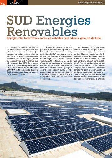 """Article de SUD publicat a la revista Magazine Vicolot """"Energia solar ..."""