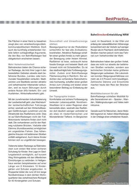 Leitfaden - Arbeitsgemeinschaft fahrradfreundliche Städte, Gemeinden