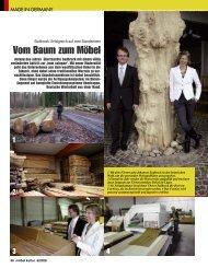 Vom Baum zum Möbel (234 kB) - Sudbrock