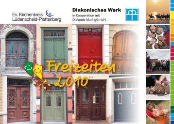 Freizeiten 2010 - Ev. Kirchenkreis Lüdenscheid Plettenberg