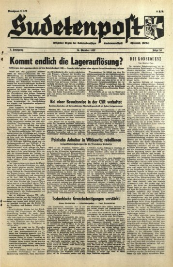 Ausgabe 20 - Sudetenpost